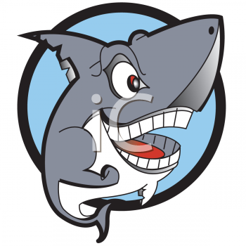 0511-0806-2519-0628_Smiling_Shark_clipart_image